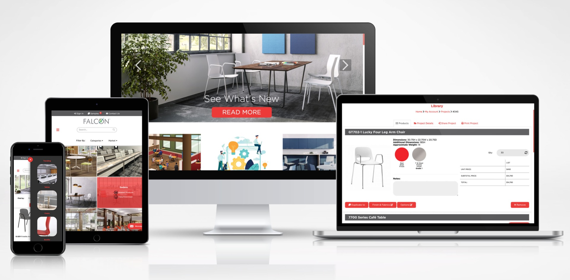 New Falcon Website