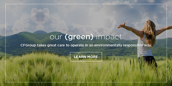 CFGroup takes great care to operate in an environmentally responsible way