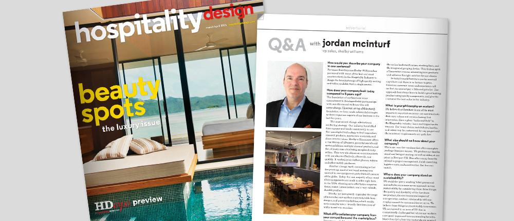 Hospitality Design Q and A
